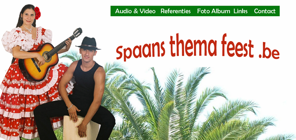 spaans thema feest